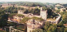 CANTINA CASTELLO DI TORRE IN PIETRA (outside of Rome)