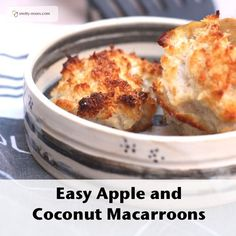 Easy Apple and Coconut Cookies