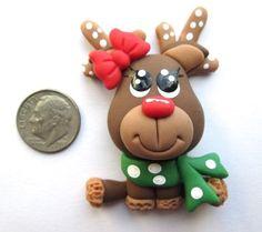 Needle Minder - Robin Reindeer (Clay)