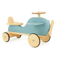 Blue Wooden Plane