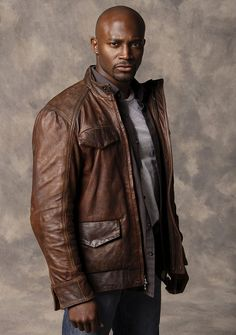 Day Break Detective Brett Hopper Jacket Taye Diggs Leather Jacket It also features full zip closure, stand up collar, patched pockets with flap on front and many more. Below are the complete product specifications of this product. Black Is Beautiful, Gorgeous Men, Beautiful People, Tay Diggs, Handsome Black Men, Handsome Faces, Black Man, Bald Men, Black Actors