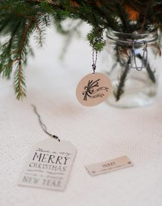 Printable Handdrawn Gift tags...so lovely