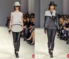 (3) Elena Burenina - Ukrainian Fashion Week: Jeanswear 2013-2014 Fall Winter Womens Runways