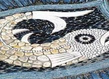 Мозаичные коврики для сада