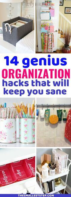 LOVE these organization hacks that actually WORK! Can't get over how amazing these storage and organization tips are. Easy and simple ways to organization your home for cheap. Definitely worth checking out if you need to get your home in order. #organization #homehacks
