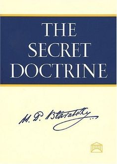 The Secret Doctrine: A Synthesis of Science, Religion, and Philosophy by Helena Petrovna Blavatsky The Secret Doctrine, Depth Of Knowledge, Life After Death, Verbatim, Thing 1, Figurative Language, Good And Evil, Book Reader, Book Collection
