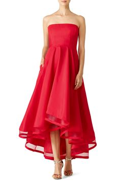 Rent Red Dark Charm Gown by allison parris for $115 only at Rent the Runway.