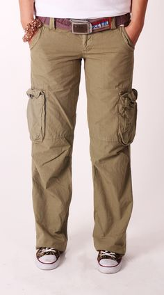 New In - Old Cotton Cargo   Woman Cargo Pant, style inspiration    Old Cotton Cargo, Yeni Bayan Yeşil Kargo Pantolon
