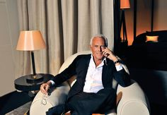 From the Desk of Giorgio Armani: Rules of Style