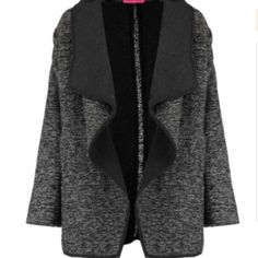 Jacheta moderna, cu imprimeu alb-negru si buzunare laterale guler cu revere late.(FJA105352CMD) Culoare: negru-alb Brand: Boohoo