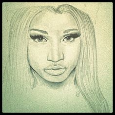 Art drawing nicki minaj image 405238 on favimcom picture art nicki minaj graphite drawing from her freedom video voltagebd Image collections