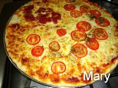 Culinária-Receitas - Mauro Rebelo: Massa de Pizza do Tio (fermento em pó)