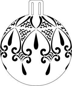 Rezultat iskanja slik za new 2016 pergamano patterns christmas time Painted Christmas Ornaments, Ornaments Design, Ball Ornaments, Christmas Balls, Christmas Colors, Christmas Tree Ornaments, Christmas Crafts, Christmas Decorations, Christmas Projects