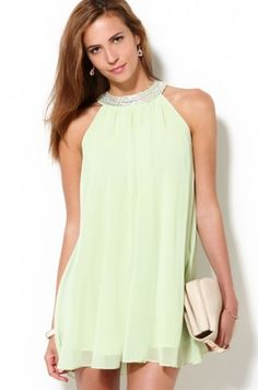 Jarlo Mercedes Dress in Green | Jarlo | ShopAKIRA.com