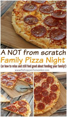 Family Pizza Night – The Easy Way (how to relax and help a good cause!)