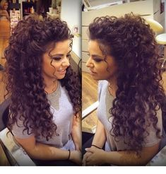 amazing look! I love her hair! #hairstylesforthinhair #weddinghairstlyes