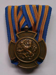 Dutch Bronze Lion medal/Bronzen Leeuw (Nederlandse dapperheidsonderscheiding ingesteld bij KB van 30 maart 1944)