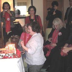 Susan celebrates her birthday in Japan ~`