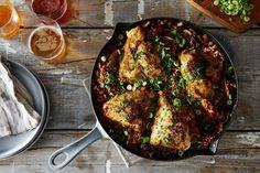 Creole Chicken with Mushroom Dirty Rice recipe on Food52