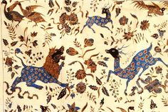 Traditional Batik from the north coast of Java