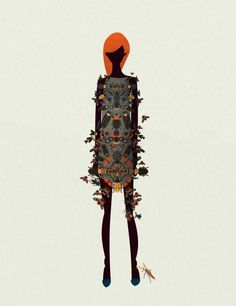 Cristian Grossi's New Fashion Illustrations | Trendland: Fashion Blog & Trend Magazine