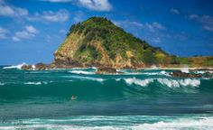 Flynns Beach looking over Nobbys Beach (Port Macquarie, NSW, Australia) Coast Australia, Australia Travel, Beautiful Sites, Beautiful Beaches, Beautiful Images, Australian Continent, Exotic Beaches, Beach Scenes, Beach Look