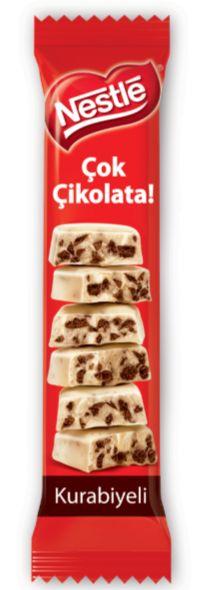 Nestlé Kurabiyeli Çok Çikolata  bunu seviyorum....