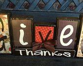 Thanksgiving blocks- Give thanks