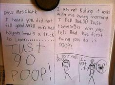 9 Hilarious Letters Written By Kids to Their Teachers from You're Doing It Right