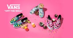 #DELICIOUS Das Vans Late Night Pack - Hunger auf Fast Food? #vans #latenightpack #style #frenchfries #hamburger #cupcakes #donuts #macarons #yum