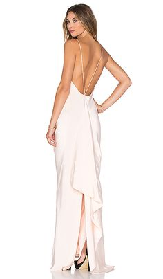 Shop for JILL JILL STUART Drape Back Gown in Powder at REVOLVE. Free 2-3 day shipping and returns, 30 day price match guarantee.
