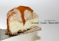 ~Caramel Crumb Cheesecake! | Oh Bite It