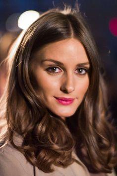 Olivia Palermo wearing a beauty chocolate eye