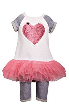 Girls size 12M Bonnie Jean Plaid Bunny Applique Dress and Knit Legging Set NWT
