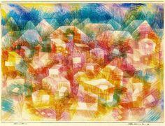 Madrugada en Ro de Paul Klee (1879-1940, Switzerland)