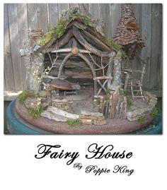 FAIRY HOUSE OOAK Original Handmade from All by MissPootsiesPrims, $450.00