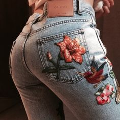 jeans, gucci, and fashion image