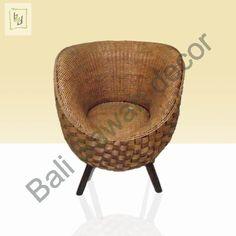 Rattan Egg Chair Single   powered by bali sawah decor