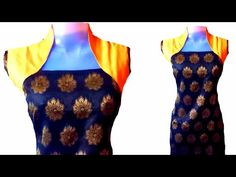 how to make designer dress with wastage clothes. - YouTube