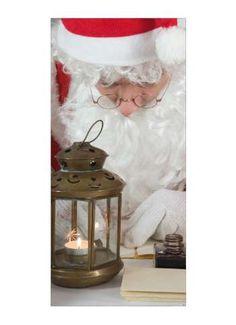 Motivdruck Weihnachtsmann Papier