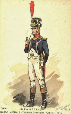 Tirailleur – a class of light infantry in the Napoleonic era trained to skirmish ahead of the main column Military Art, Military History, Military Uniforms, Empire, Napoleonic Wars, American Revolution, Fairy Tales, Princess Zelda, French