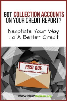 How a Collection Account Is Reported on your credit report Can Either Improve Your Credit Score Or Totally Devastate It! So here's how to negotiate to a better collection account listing.