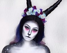 Pin for Later: Deer Makeup Halloween Costume Ideas You'll Want to Fawn Over Deer with drama