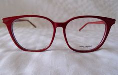 NEW $305 YVES SAINT LAURENT PARIS SL38 SURF/F 003 RED EYEGLASSES. MADE IN ITALY. | Clothing, Shoes & Accessories, Women's Accessories, Sunglasses & Fashion Eyewear | eBay!