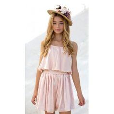 Modelos de vestidos en gasa estampada