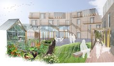 Cohousing, Co-Housing, London, Hackney, Sarah Wigglesworth Architects Hackney-co-ho-view1.jpg
