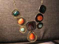 Gemstone Necklace,
