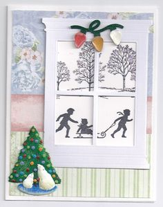 Madison Window Christmas card