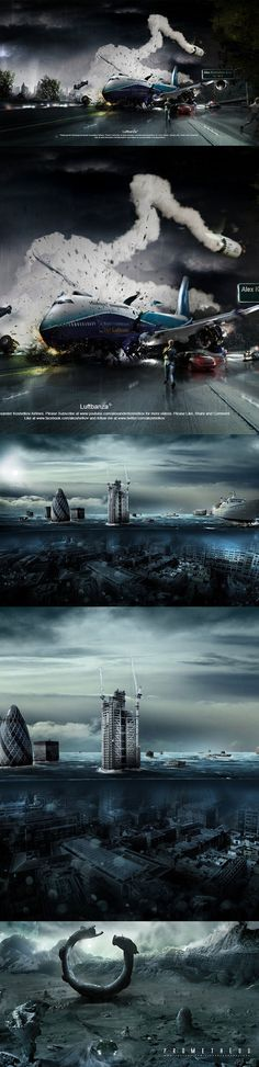 Wonderful photoshop timelapse video bt Alexander Koshelkov
