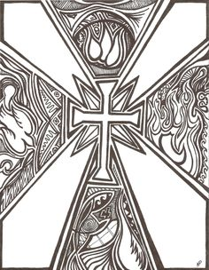 Christian zentangle - Google Search